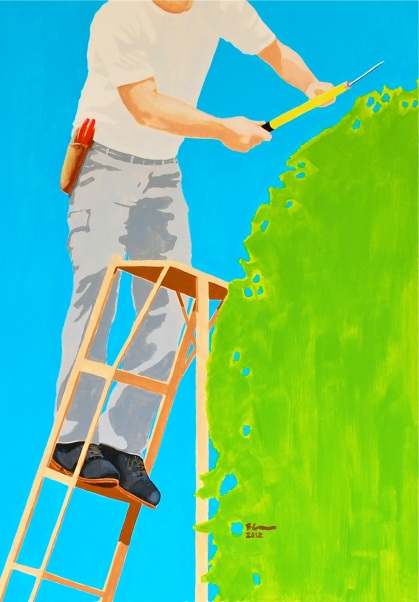 New Landscape Paintings - Tree Trimmer
