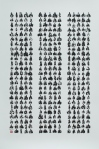 374 Scooters, 2012, 41.375x29.625, ink on paper