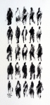 26 Pedestrians (with Child)12x6 inchesInk on paper