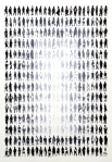 336 Pedestrians (Boxed Fade)32.5x25 inchesInk on paper