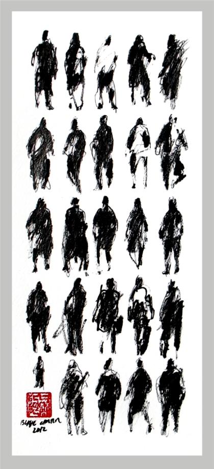 2012 - 25 Pedestrians II - FOR WEB